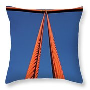 Gateway II Throw Pillow