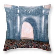 Gateway Of India Mumbai 2 Throw Pillow