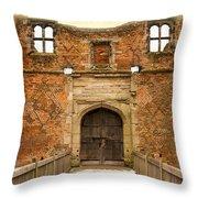 Gateway To History Throw Pillow