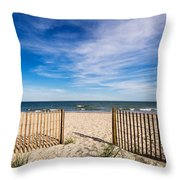 Gateway To Serenity Myrtle Beach Sc Throw Pillow by Stephanie McDowell