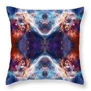 Gateway To The Universe - Carina Nebula Throw Pillow