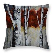 Gateway Throw Pillow by Vickie Warner