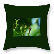 Gather If You Wish. Then Let Them Go. Throw Pillow