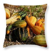 Gather The Harvest Throw Pillow