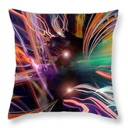 Gathered In My Name Throw Pillow