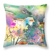 Gatova Spain 01 Throw Pillow
