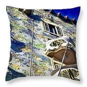 Gaudi - Casa Batllo Exterior Throw Pillow