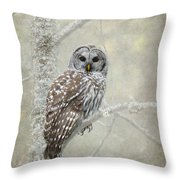 Guardian Of The Woods Throw Pillow