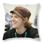 Gavin Degraw Throw Pillow