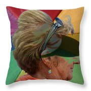 Gay Old Times  Throw Pillow
