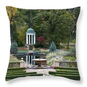 Gazebo Garden 3 Throw Pillow