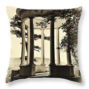 Gazebo Vintage Styled Throw Pillow