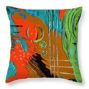 Gazing Out On A Changing World Throw Pillow