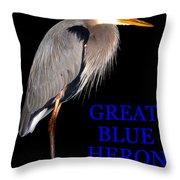 Gbh Bird Educational Work A Throw Pillow