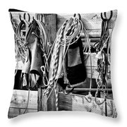 Gear For The Day  Throw Pillow
