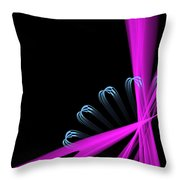 Gear Sticks Throw Pillow