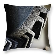 Gears Of A Grist Mill Throw Pillow
