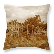Geauga Lake 2  Throw Pillow