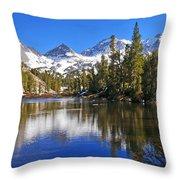 Gem Of The Sierras Throw Pillow