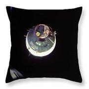 Gemini Vii Orbit 1965 - Nasa Throw Pillow