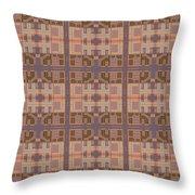 Gemma Abstract 1 Throw Pillow