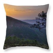 Genal Valley Throw Pillow