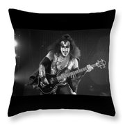 Gene Simmons Throw Pillow