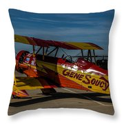 Gene Soucy Throw Pillow