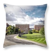 General Electric - Schenectady Throw Pillow by Ray Summers Photography
