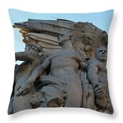 General George Meade Memorial -- Right Side Throw Pillow