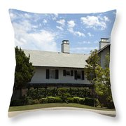 General George S Patton Family Home Throw Pillow
