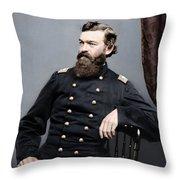 General James S Robinson Throw Pillow