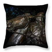 General Longstreet Throw Pillow