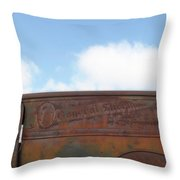 General Sherman Whiskey Throw Pillow