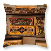 General Store 2 Throw Pillow