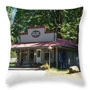 General Store Throw Pillow