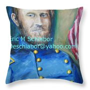 General Us Grant  Throw Pillow