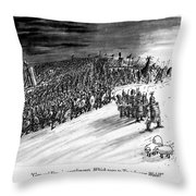 General Varus's Compliments. Which Way Throw Pillow