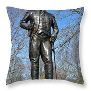 General Von Steuben Throw Pillow by Olivier Le Queinec