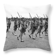 General Wu Pei-fu Troops Throw Pillow