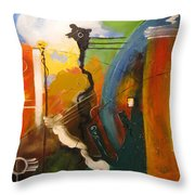 Genesis 1 Vs 3 Let There Be Light Throw Pillow