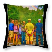 Genesis 9 Throw Pillow