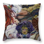 Genesis Throw Pillow by Avonelle Kelsey