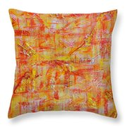 Genesis Chapter One Verse One Throw Pillow