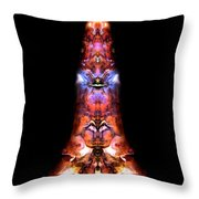 Genie In A Bottle Throw Pillow