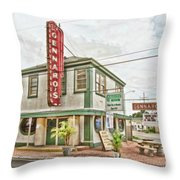 Gennaro's Throw Pillow by Scott Pellegrin