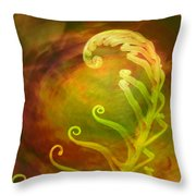 Gensis Throw Pillow