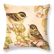 Gentle Couple Throw Pillow