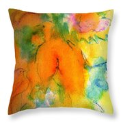 Gentle Doves Throw Pillow