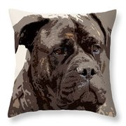 Gentle Gina  Throw Pillow